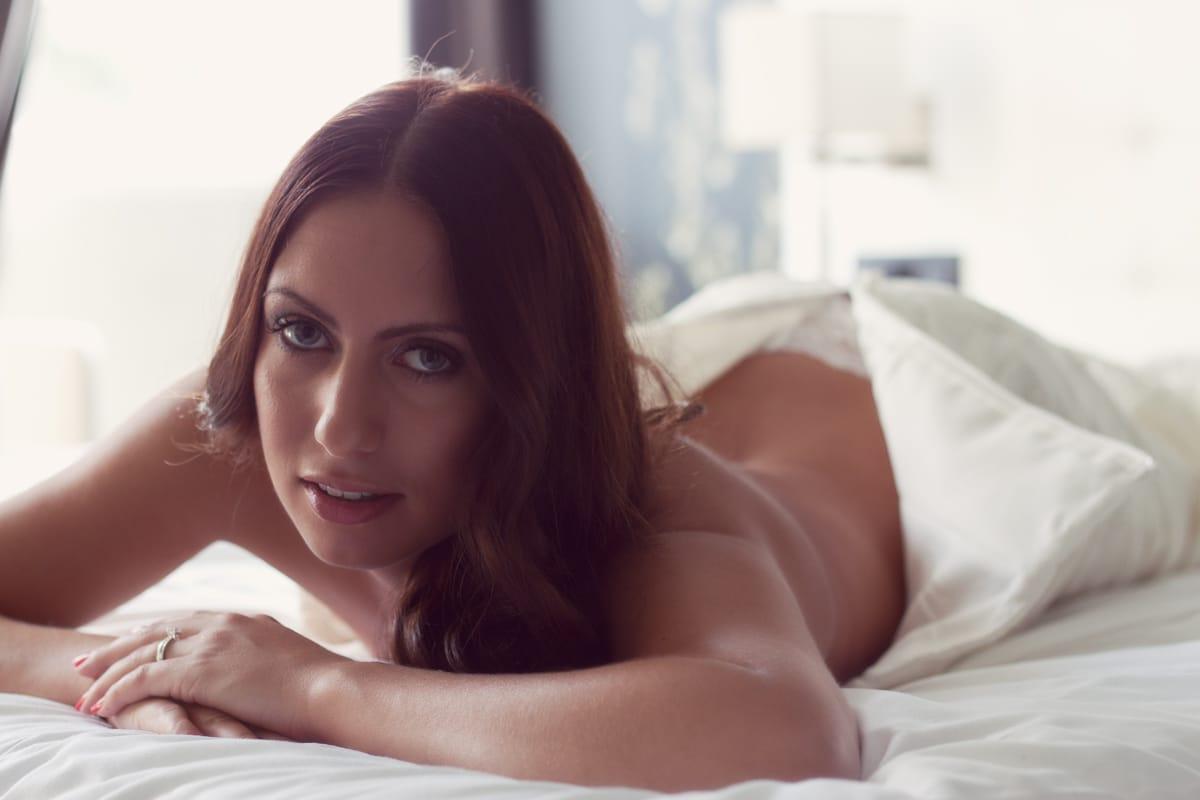 Sexy Bruids Boudoir met Meryen